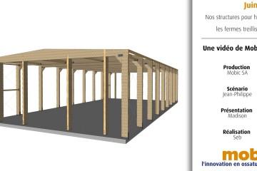 Episode #6 – Nos structures pour halls : les fermes treillis